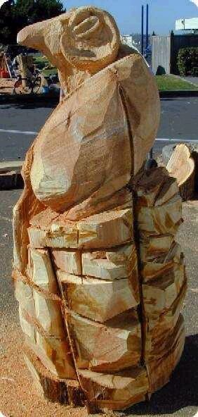 Big Horn Ram Carving