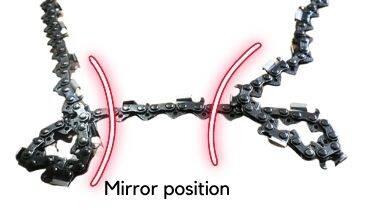 Mirror position