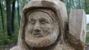 St Francis Wood Carving
